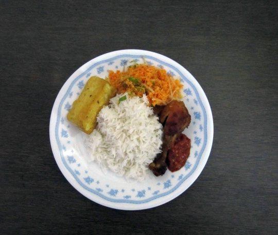 Sumptous nasi ambeng