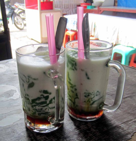Cendol  - warong-style